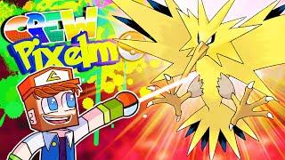 ZAPDOS! - Crew Pixelmon Season 4 Episode 33 (Minecraft Pokemon Mod)