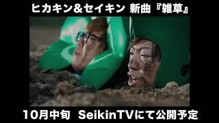 HIKAKINとSEIKINが新曲「雑草」を公開! 1フレーズだけだけど、期待でき...