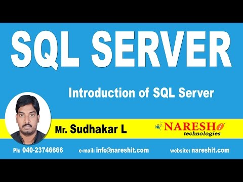 Introduction of SQL Server | MSSQL Training