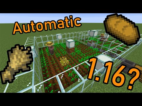 *DEPRECATED* FULLY-AUTOMATIC Wheat/Bread Farm [Minecraft Snapshot 20w15a/ 1.16?]