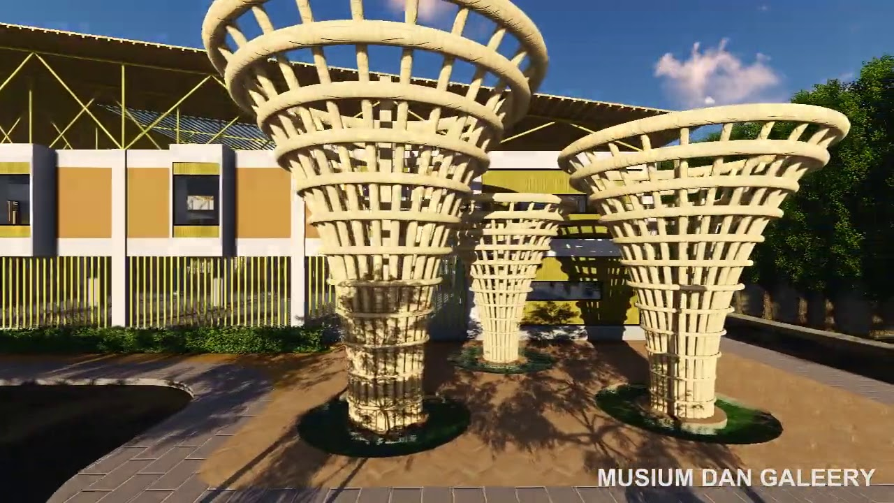 Animasi Tugas Akhir Arsitektur Pusat Kebudayaan Sunda Arsitektur Neo Vernakular Bogor Youtube
