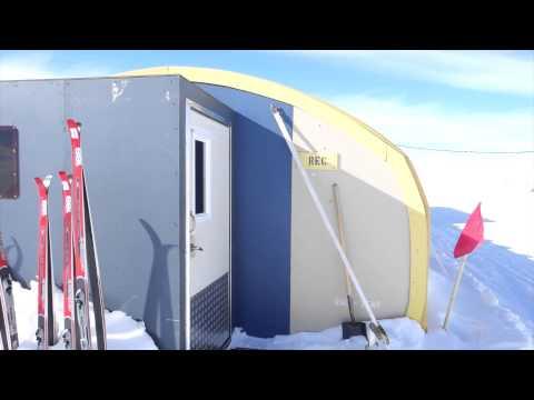 In-depth tour of the West Antarctic Ice Sheet Field Camp, Antarctica