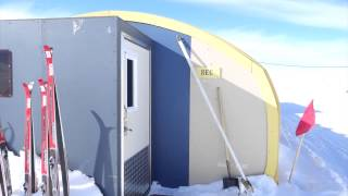 In-depth tour of the West Antarctic Ice Sheet Field Camp, Antarctica