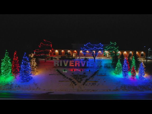 The AWESOME display of Riverview Christmas Lights