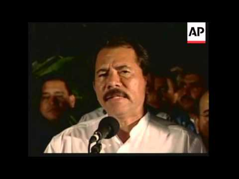 Ortega wins presidential election, victory rally and speech