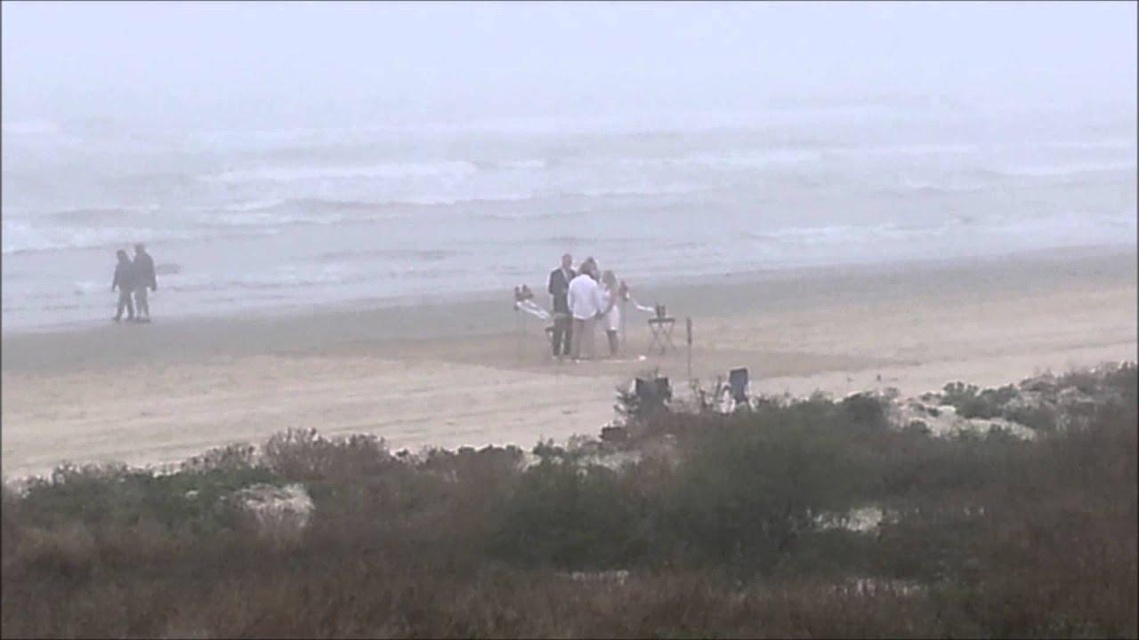 Most Beach Wedding Galveston Texas Photo