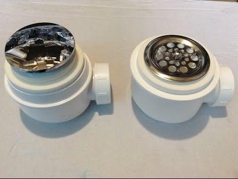 Сравнение сифонов для поддонов от чешской компании Alca Plast,модели A47CR Ø50 и A46 Ø50