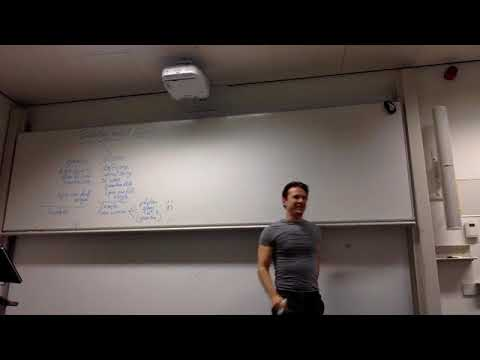 Nuclear and Elementary Particles, Week 5 Lecture, 2nd of Oct