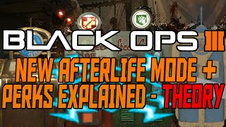 Shadows of Evil Theory - New Afterlife Mode + Perks Explained - Black Ops 3 Zombies Theory