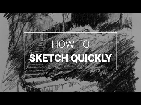 How to Sketch Places Quickly thumbnail