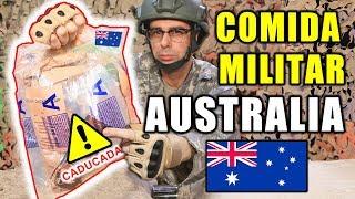 Probando COMIDA MILITAR CADUCADA de AUSTRALIA | MRE AUSTRALIA 24 Horas Menú A