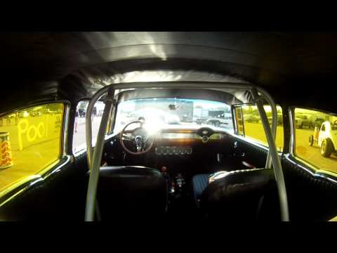 Koopmeiners & Sons 1955 Chevy, 2012 Meltdown Drags Byron Il, Vintage drag racing