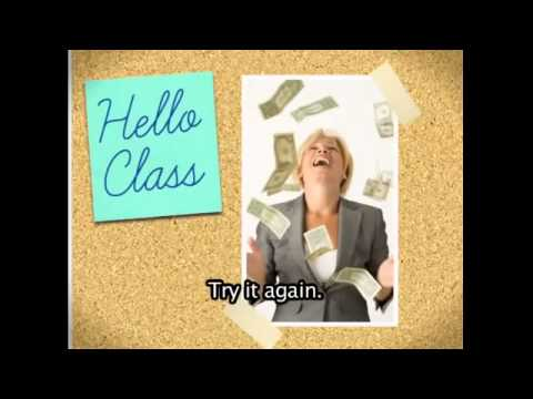 Vídeo Curso de conversação em inglês
