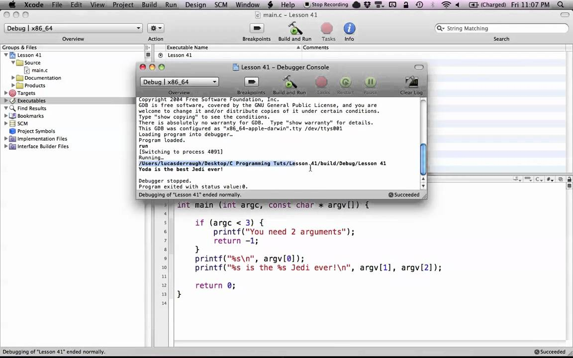 How to learn C in Mac OS X: Why you should learn C in Mac OS X