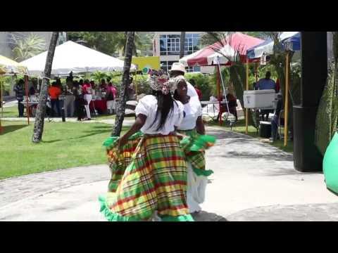 BVI: James Lettsome Cultural Food Fair - video by John F. Black