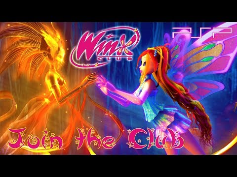 Winx Club: Join The Club Gameplay (PSP)