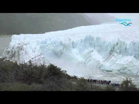 El Glaciar Perito Moreno - Resumen Ruptura 2016