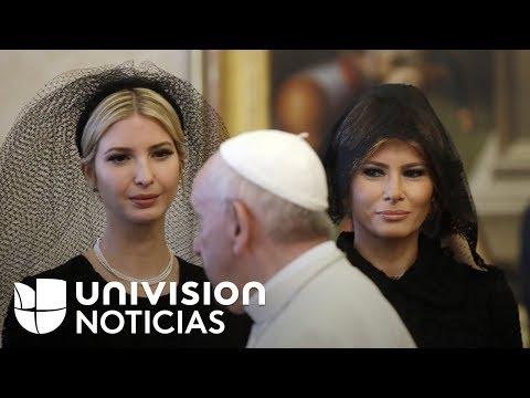 ¿Por qué Melania e Ivanka usaron velo en su visita al Vaticano y no en Arabia Saudita?