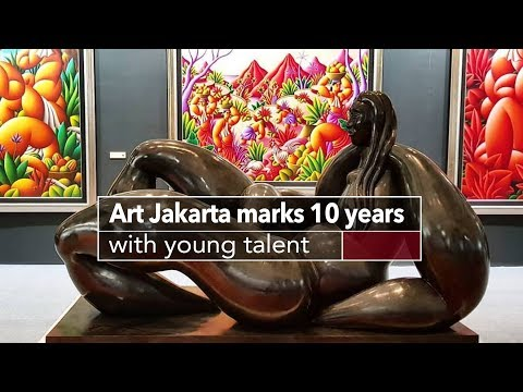 Live: Art Jakarta marks 10 years with young talent 走进印尼雅加达2018艺术展