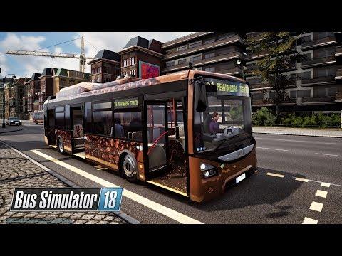 BUS SIMULATOR 18 | #10 Vueltas y Vueltas en Old Town solo Buses con Gas Natural Comprimido