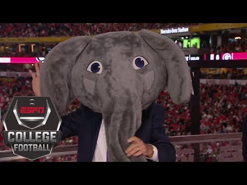 Lee Corso goes with Alabama over Georgia in the College Football Playoff title game   ESPN