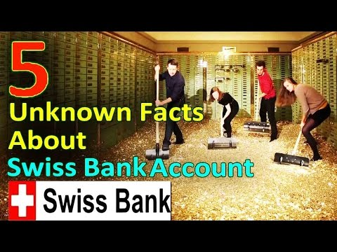 5 Amazing and Unknown Facts About Swiss Bank Account | Top 5 Swiss Banks !!!