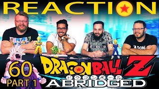 TFS Dragon Ball Z Abridged REACTION!! Episode 60 - Part 1