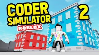 UPGRADING TO AN OFFICE - ROBLOX CODER SIMULATOR #2