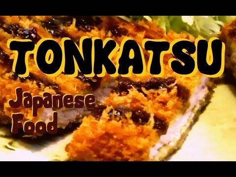 JAPANESE FOOD - Tonkatsu (Fried Pork Cutlet)