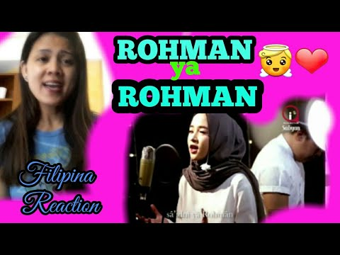 ROHMAN YA ROHMAN-Cover by Sabyan|Filipina Reaction