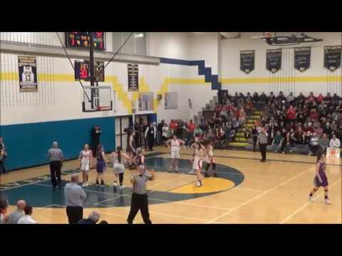 Game Highlights Girls' Varsity: Voorheesville 54 vs Mechanicville 37 (F)
