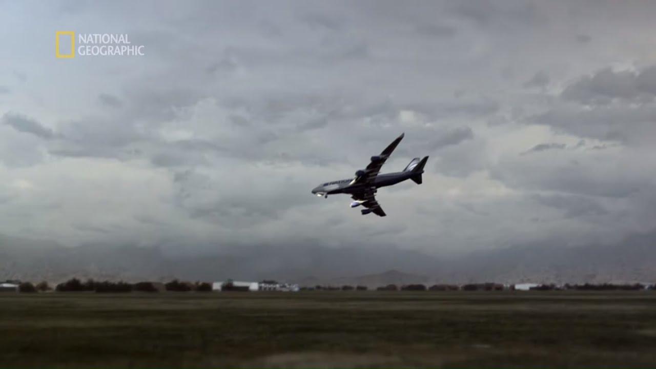 Samolot zawisł w powietrzu, po czym bezwładnie spadł na ziemię [Katastrofa w przestworzach]