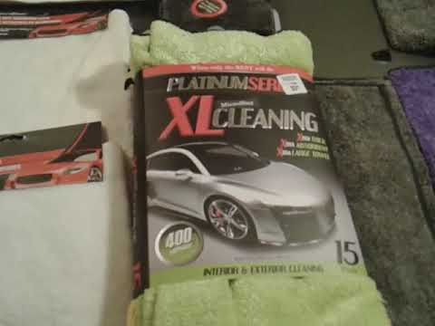 Wal-Mart and dollar tree has some of the best microfiber towels on the market