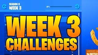 SEASON 10 WEEK 3 CHALLENGES LEAKED FORTNITE ( SEASON X ) *Worlds Collide Challenges*