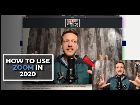 How to Use Zoom: Teach Interactive Lessons and Improve Your Audio and Video Quality (2020)