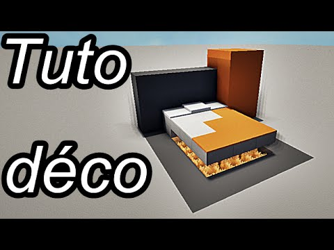Minecraft tuto d co int rieur meubles 2 2 youtube for Deco interieur