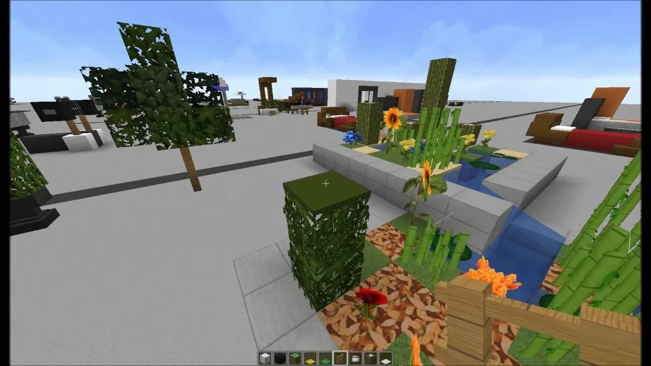 Minecraft tuto d co int rieur meubles 2 2 - Decoration maison minecraft interieur ...