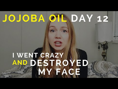 I Went Crazy And Destroyed My Face - Jojoba Oil On Acne-Prone Skin