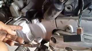 Sửa xe Cùi Bắp_kiểm tra mobin lửa xe máy