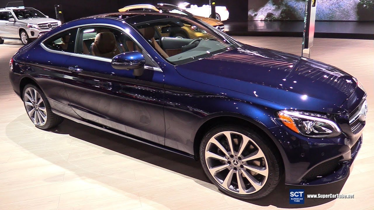 2018 Mercedes Benz C300 4Matic Coupe - Exterior and ...