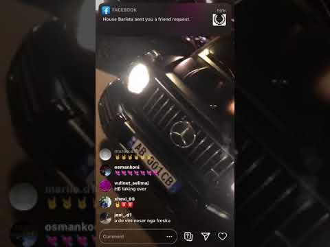 Stealth HB live ne instagram tregon projektin e tij te radhes @HOOD LIFE 2💯