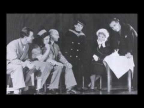 "Wim Kan ""Lentemelodiëen"" Radio-uitzending ""ABC-Cabaret"", 1950."