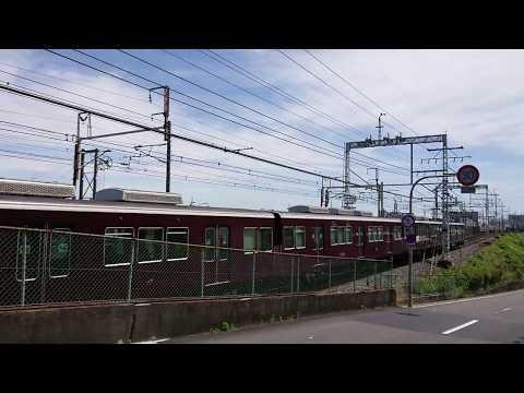 N700A新幹線に抜かれてもマイペースに走行する7300系準急さん🎵