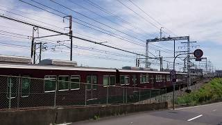N700A新幹線に抜かれてもマイペースに走行する7300系準急さん