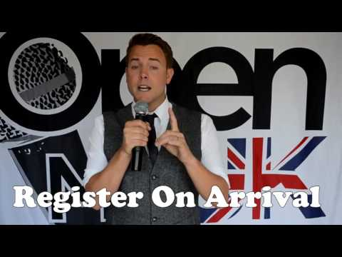 OPEN MIC UK 2017 NEWSLETTER VIDEO