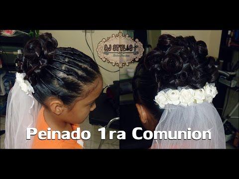 peinado de primera comunion: COMENTA-COMPARTE-SUSCRIBETE  SI TE GUSTO ESTE VIDEO Y NO ESTAS SUSCRITO A MI CANAL TE INVITO A SUSCRIBIRTE ASI PODRAN LLEGARTE NOTIFICACIONES CUANDO HAYA NUEVO VIDEO  https://www.youtube.com/user/ajstylist  Videos recomendados  https://www.youtube.com/watch?v=p2YDmxATeHk&list=PL0hxIm4EbIJfX3VenaEDEMFr9qkP_PCG0&index=1  FACEBOOK: https://www.facebook.com/ajstylist1  Facebook personal :https://www.facebook.com/ajstylist.delia  INSTAGRAM : http://instagram.com/dellatrix  TWITTER : https://twitter.com/dellatrix  PINTEREST : http://es.pinterest.com/dellatrix/  PONTE EN CONTACTO CONMIGO POR MEDIO DE SKYPE : ailedone@hotmail.com  MUSICA GALERIA DE YOUTUBE  musica galeria de camtasia   Todos los productos nombrados en este video nos son patrocinados por ninguna compañia son comprados con mi propio dinero  y los recomiendo por que me funcionan bien    MUCHAS GRACIAS POR VER MIS VIDEOS NO SABEN LO ESPECIALES QUE SON PARA MI BESOS DELIA