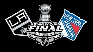 NHL 14: Stanley Cup Final Simulation | SportsCenter Edition | Kings vs Rangers