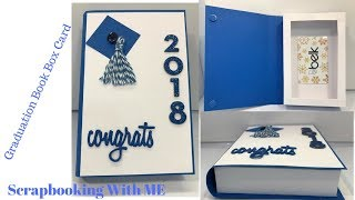 Graduation Book Box and Card In One