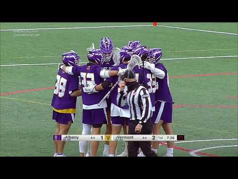 2021 NCAA Men's Lacrosse ~ Albany vs Vermont America East Championship 8 May
