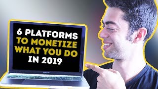 6 Online Platforms You Should Join To Monetize Your Online Presence! I Smell $$$